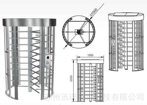 标准产品技术参数        ○结构:圆形框架结构