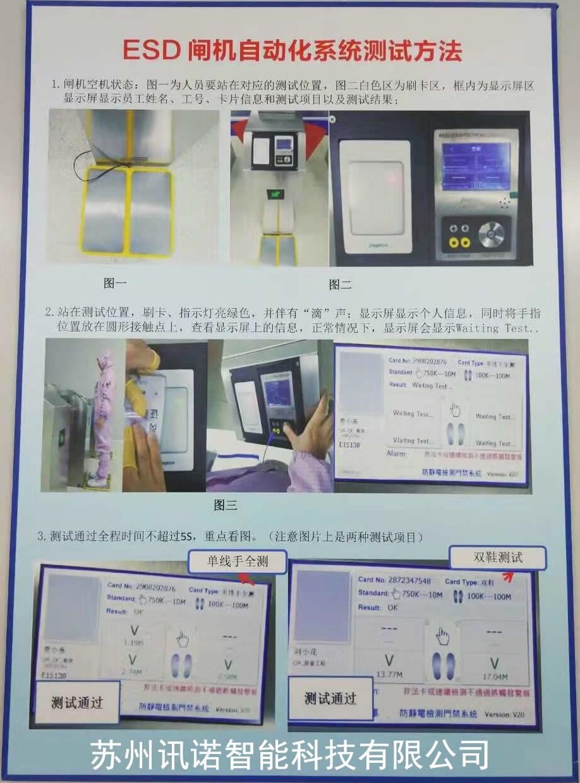 数显型ESD门禁(大屏)_ESD防静电门禁系统